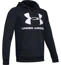 Under Armour Rival Fleece Hoodie heren sportsweater zwart