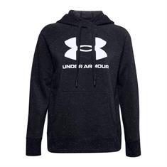 Under Armour Rival Fleece Logo dames sportsweater zwart