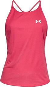 Under Armour Speed Stride Racer dames sportshirt fuchsia