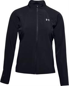 Under Armour Storm Launch 3.0 dames hardloopjack zwart