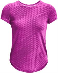 Under Armour Streaker Runclipse dames sportshirt pink