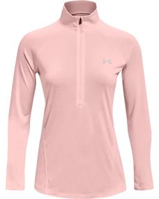 Under Armour Tech 1/2 Zip dames sportsweater pink