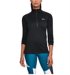 Under Armour Tech 1/2 Zip dames sportsweater zwart