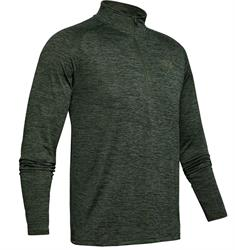 Under Armour Tech 2.0 1/2 Zip heren hardloopshirt lange mouwen groen