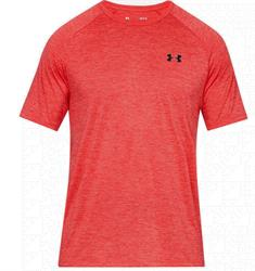 Under Armour Tech 2.0 heren sportshirt koraalrood