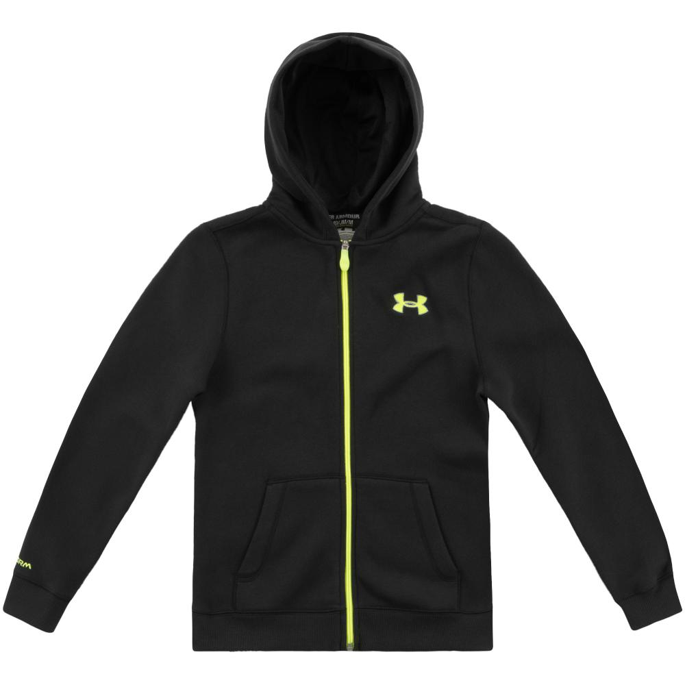 Jongens sport sweater Under Armour Transit full zipp 1251071.001 JR
