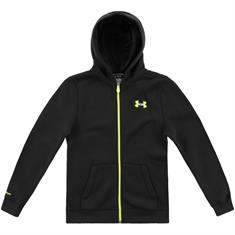 Under Armour Transit full zipp jongens sportsweater zwart