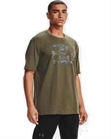 Under Armour UA ABC Camo Boxed Logo heren sportshirt groen
