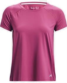 Under Armour UA Iso-Chill Run dames sportshirt pink