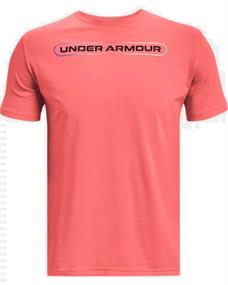 Under Armour UA Lockertag heren sportshirt rood