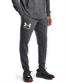 Under Armour UA Rival Terry heren sportbroek grijs