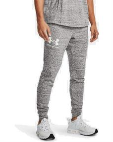 Under Armour UA Rival Terry heren sportbroek wit