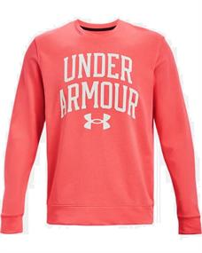 Under Armour UA Rival Terry heren sportsweater rood