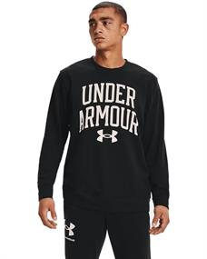 Under Armour UA Rival Terry heren sportsweater zwart