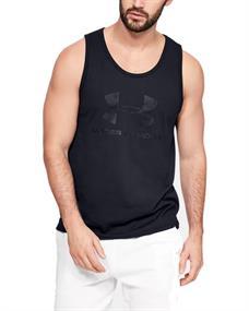 Under Armour UA Sportstyle Logo Tank heren singlet zwart
