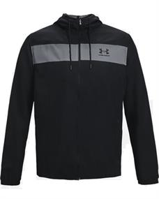 Under Armour UA Sportstyle Windbreaker heren hardloopjack zwart
