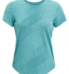 Under Armour UA Striker Runclipse dames sportshirt blauw