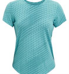 Under Armour UA Striker Runclipse dames sportshirt blauw
