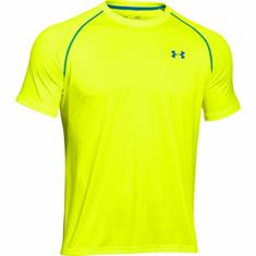 Under Armour UA Tech Short Sleeve heren hardloopshirt geel
