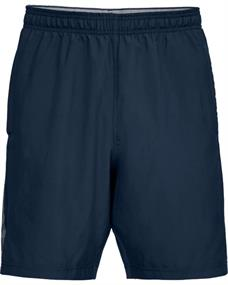 Under Armour UA WovenWordmark heren sportshort marine