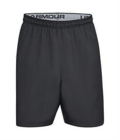 Under Armour UA WovenWordmark heren sportshort zwart