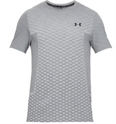 Under Armour Vanish Seamless heren sportshirt midden grijs