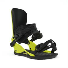 Union Strata Hazard Yellow snowboard bindingen lime groen