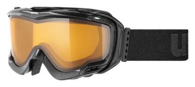 Uvex +Ventilator/Bril skibril zwart