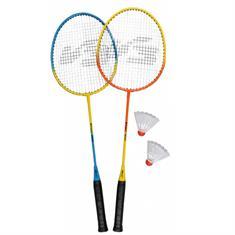 V3 tec Badminton set 2Stuks badmintonset blauw