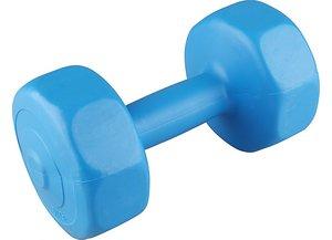 V3 tec Dumbell Set 2x3 KG gewichten blauw