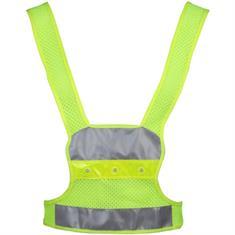 V3 tec Reflectie Vest Incl. Verlichting reflectie geel