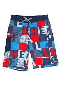 Vans Checker Blaster jongens beachshort blauw