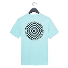Vans Checkered jongens skate shirt mint
