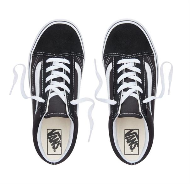 Vans Old Skool meisjes sneakers zwart