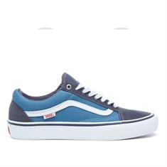 Vans Old Skool Pro heren sneakers blauw