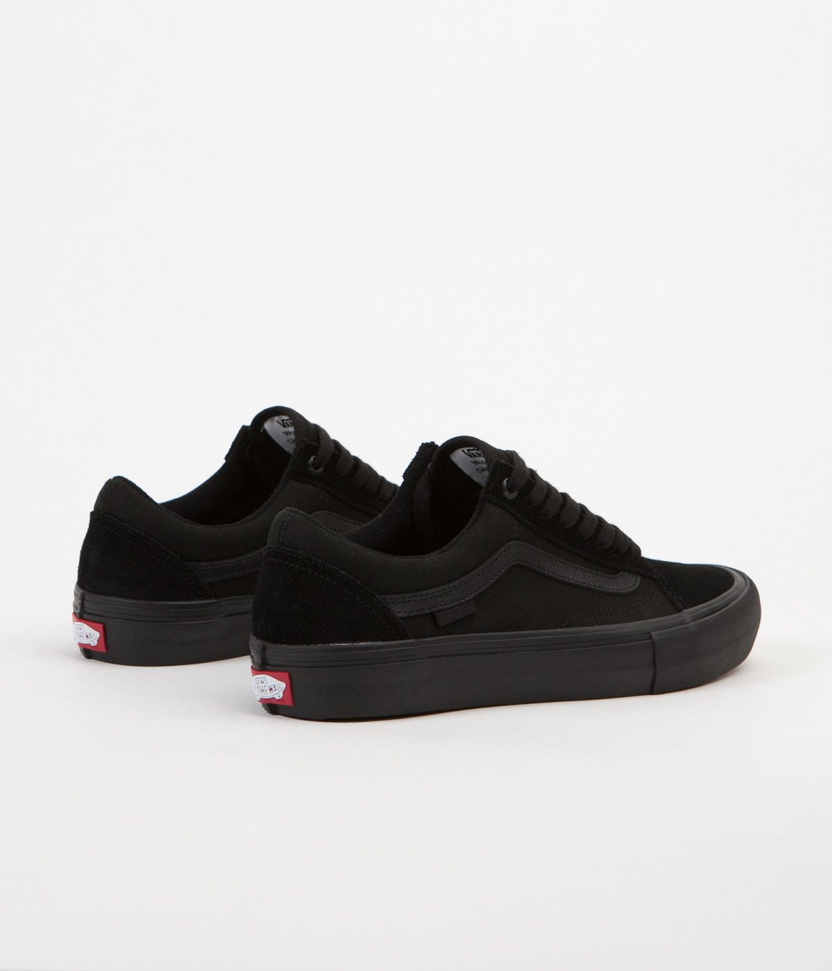 vans old skool black heren