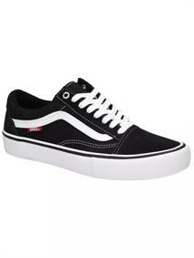 Vans Old Skool Pro heren sneakers zwart