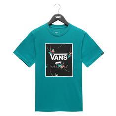 Vans Print Box Quetzal jongens skate shirt jade