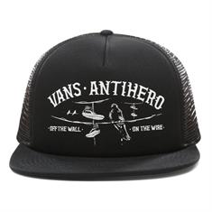 Vans Vans X Anti Hero caps zwart