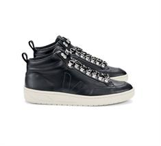 Veja Roraima Leather dames sneakers zwart