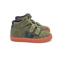 Veja Small Esplar Mid junior schoenen midden grijs