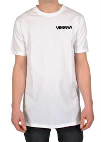 Vimana Team Tee heren shirt wit