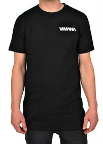 Vimana Team Tee heren shirt zwart