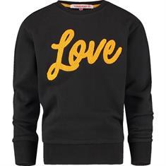Vingino Novela meisjes casual sweater zwart