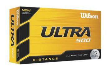 Wilson 15 Ballen Ultra golfballen wit