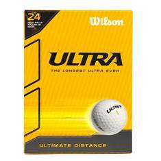 Wilson 24 Ballen Ultra golfballen wit