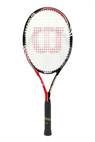 Wilson Demo racket competitie tennisracket wit