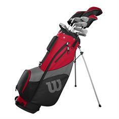 Wilson Pro Staff SGI Steel Heren golfset rood