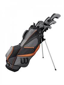 Wilson X31 Staal +Cartbag WGG 157 596 heren golfset rechtshandig midden grijs
