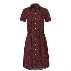 Wow Shirt Dress dames strand jurk zwart dessin